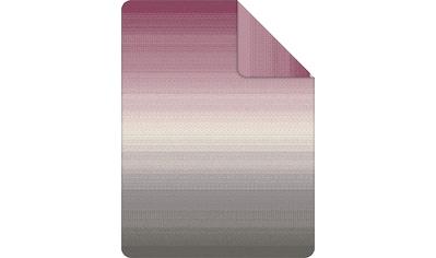 IBENA Wohndecke »Jacquard Decke Benin«, mit Farbverlauf kaufen