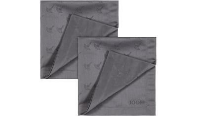 Joop! Stoffserviette »FADED CORNFLOWER«, (Set, 2 St.), Aus Jacquard-Gewebe gerfertigt... kaufen