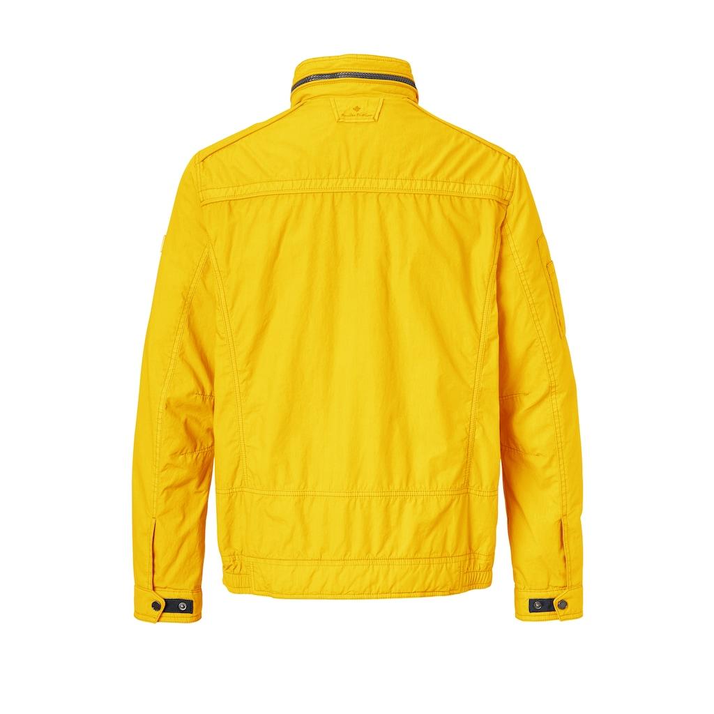 Redpoint Blouson »Byron«, garment dye, Baumwolle