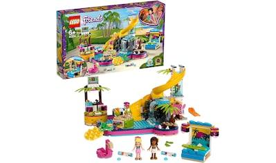"LEGO® Konstruktionsspielsteine ""Andreas Pool - Party (41374), LEGO® Friends"", Kunststoff, (468 - tlg.) kaufen"