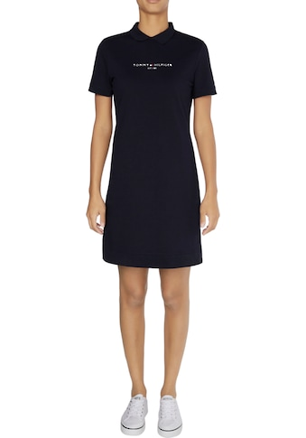TOMMY HILFIGER Jerseykleid »LOGO RELAXED POLO DRESS SS« kaufen