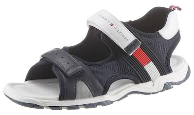 TOMMY HILFIGER Sandale, mit modischer Laufsohle kaufen