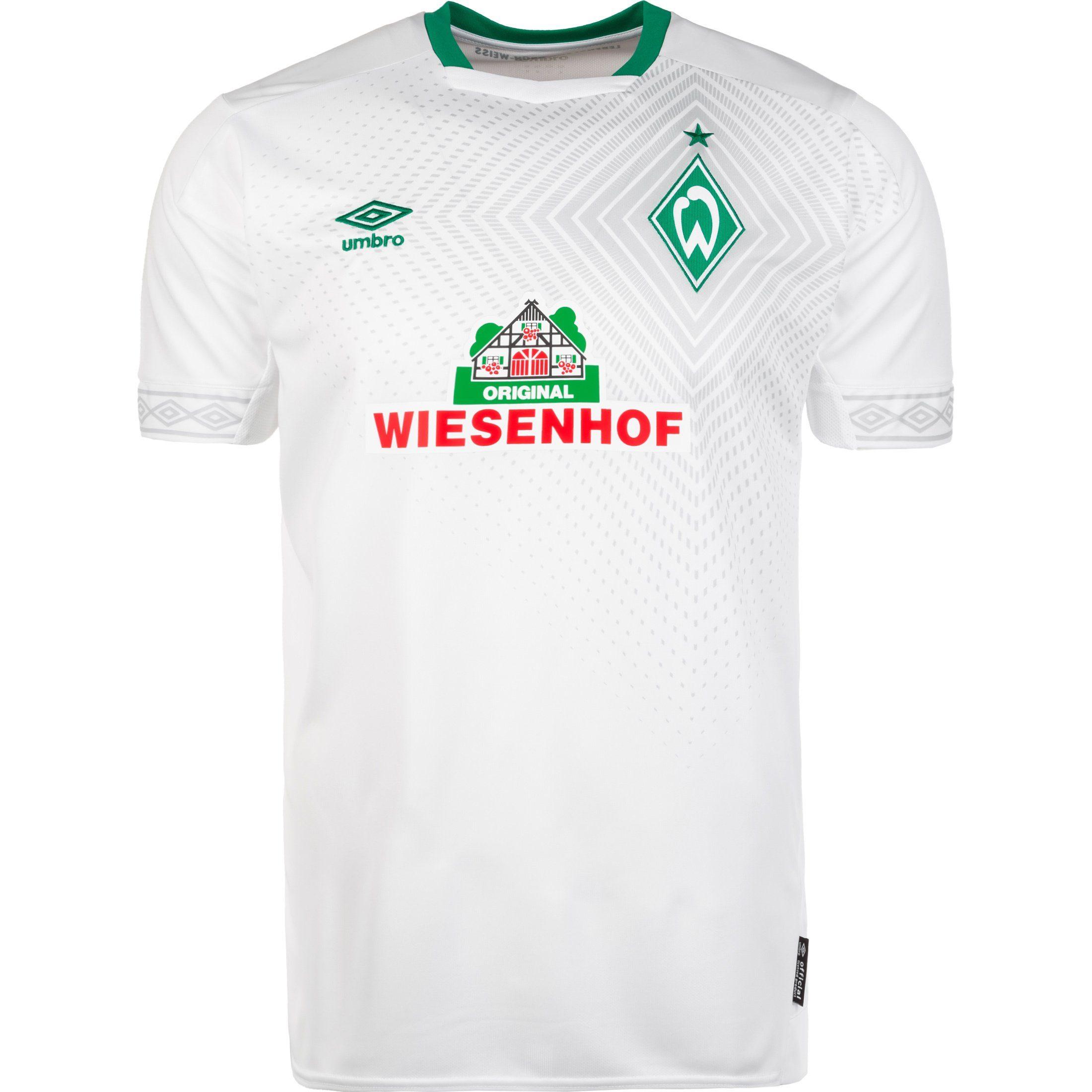 Umbro Fußballtrikot Sv Werder Bremen 18/19 3rd | Sportbekleidung > Trikots > Fußballtrikots | Weiß | Umbro