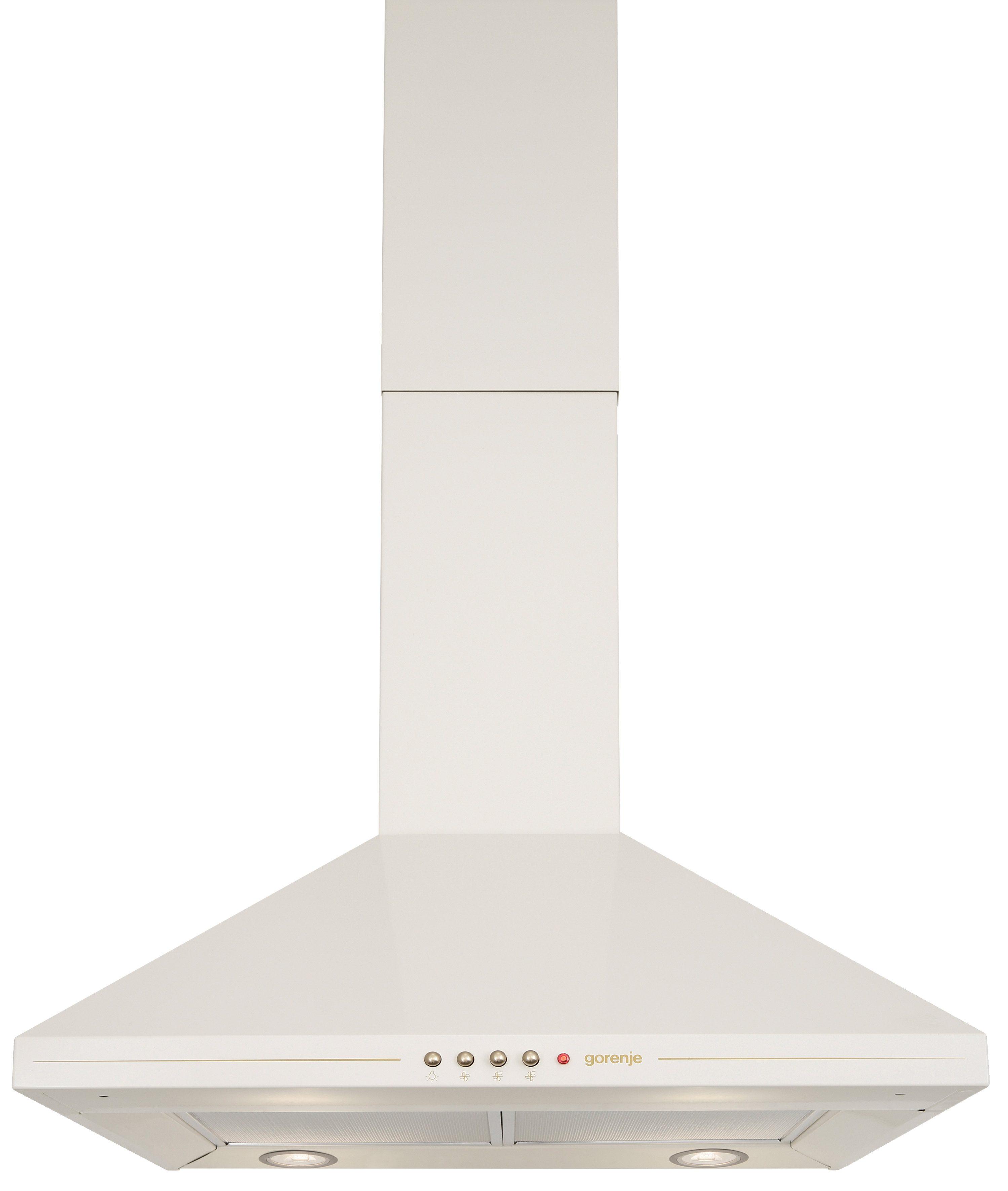 GORENJE Wandhaube DK63CLI EEK D beige Wandhauben Dunstabzugshauben Haushaltsgeräte Dunstabzugshaube