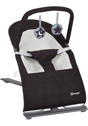 BabyGo Babywippe »Fancy, black«, bis 9 kg kaufen