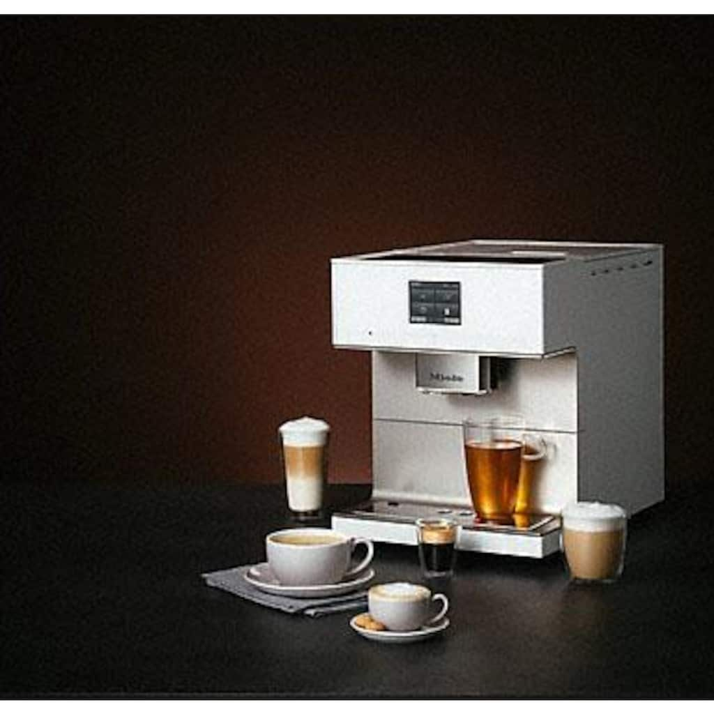 Miele Kaffeevollautomat »CM7550 Brillantweiß«, Appfähig