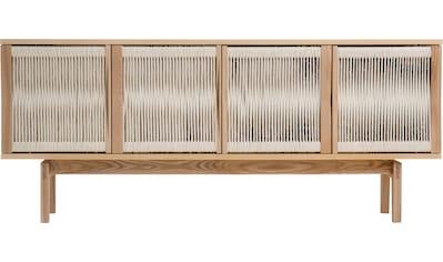 Woodman Sideboard »Lidia«, mit Türenfronten aus geflochtenem nartürlichem Hanfseil, Breite 180 cm kaufen