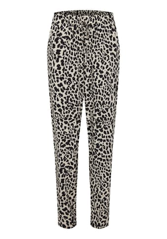 b.young Stoffhose »b.young Damen Stoffhose mit Allover Print«, Stoffhose mit Muster kaufen