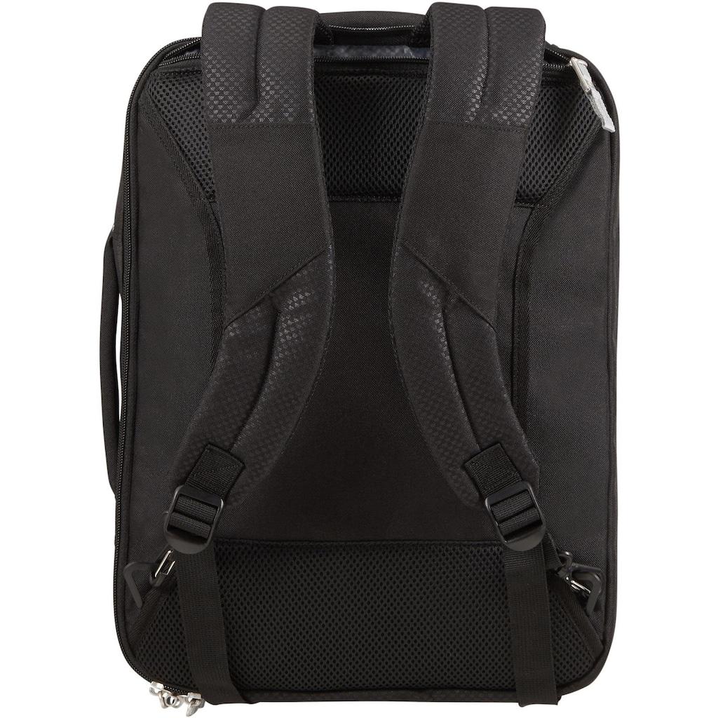 Samsonite Flugumhänger »Sonora 3-Way Shoulderbag, black«, mit Rucksackfunktion