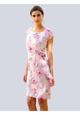 Alba Moda Kleid im floralem Dessin kaufen