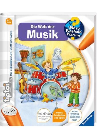 """Ravensburger Buch """"tiptoi®, WWW  -  Welt der Musik"""" kaufen"""