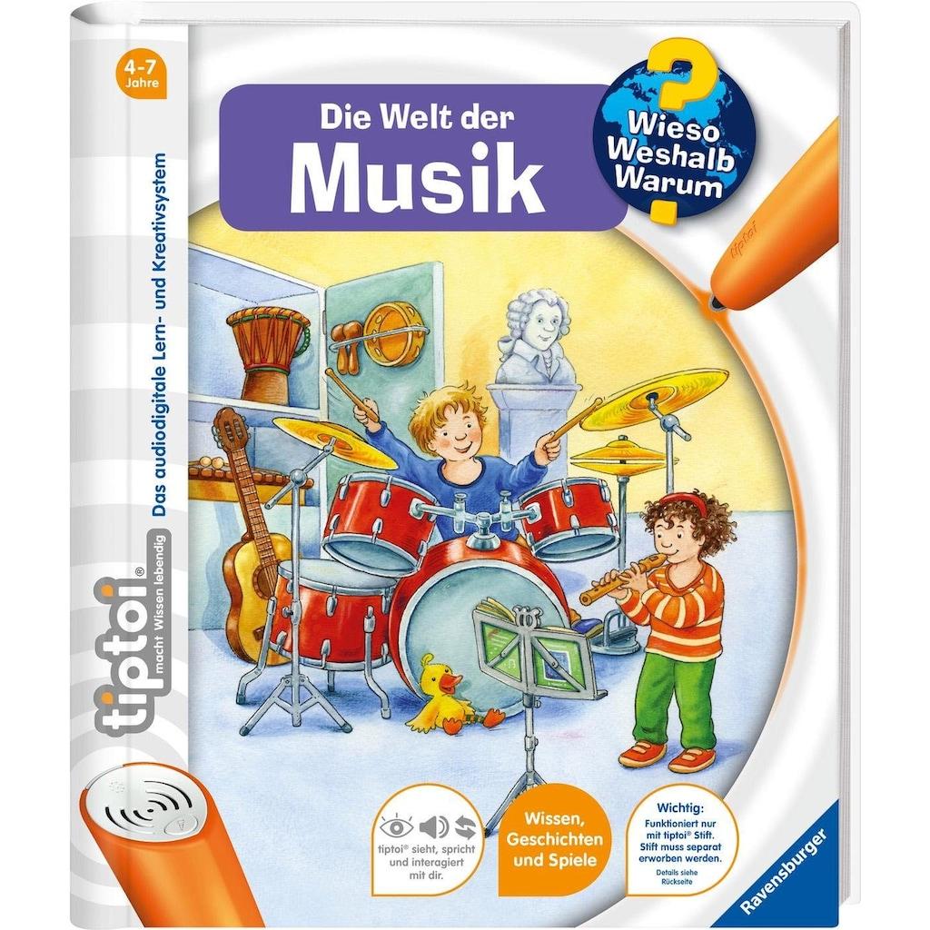 Ravensburger Buch »tiptoi®, WWW - Welt der Musik«, Made in Europe