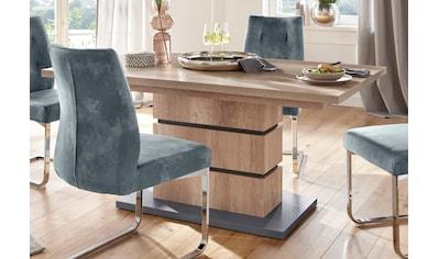 Homexperts Säulen-Esstisch »Bonnie«, mit Auszug (140-190 cm) kaufen