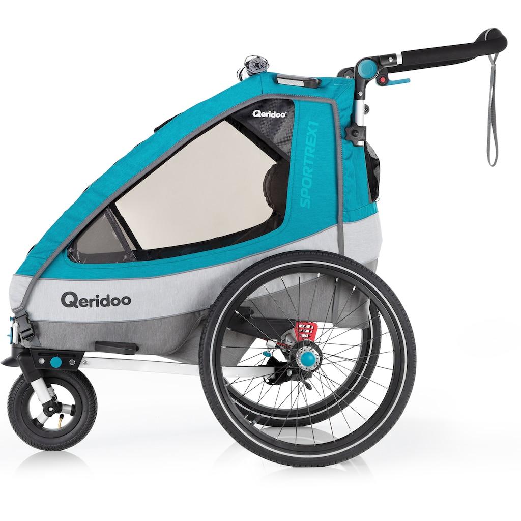 Qeridoo Fahrradkinderanhänger »SPORTREX 1«