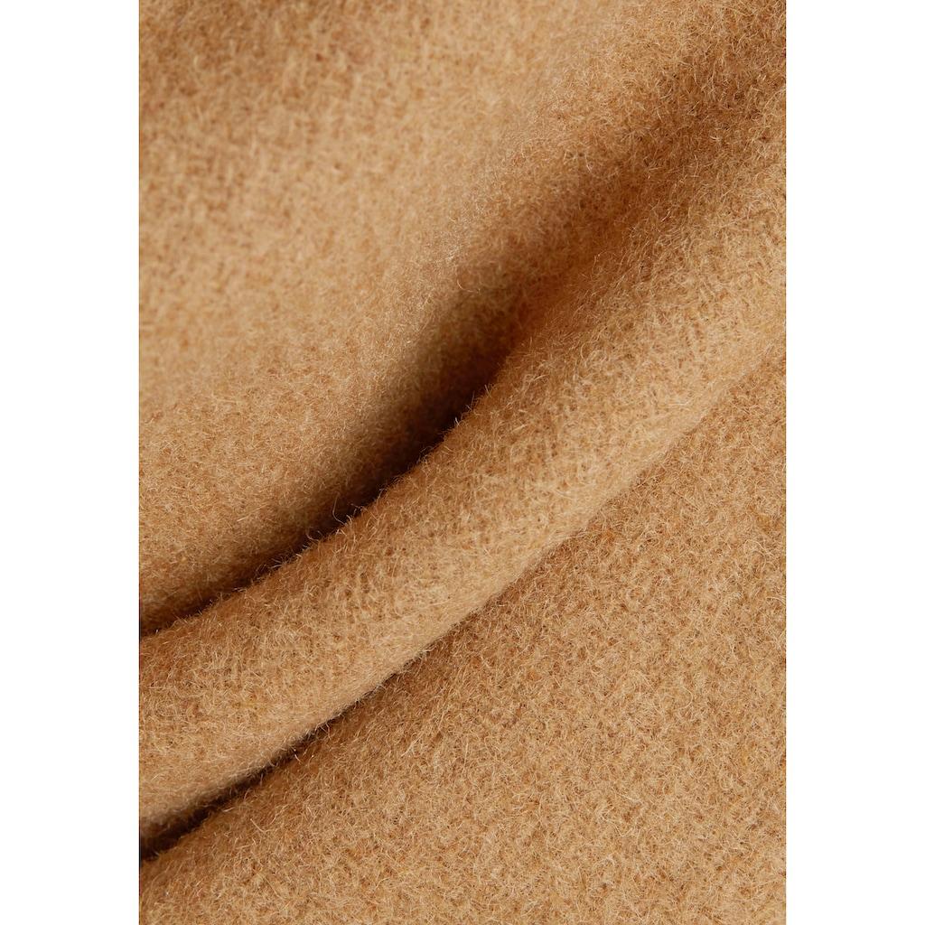 Esprit Kurzmantel, im Blazer-Stil mit Reverskragen