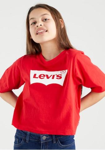 Levi's Kidswear T-Shirt »BATWING CROPPED TEE« kaufen