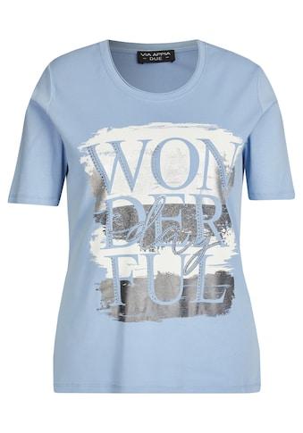 VIA APPIA DUE T-Shirt, mit Schmucksteinen kaufen