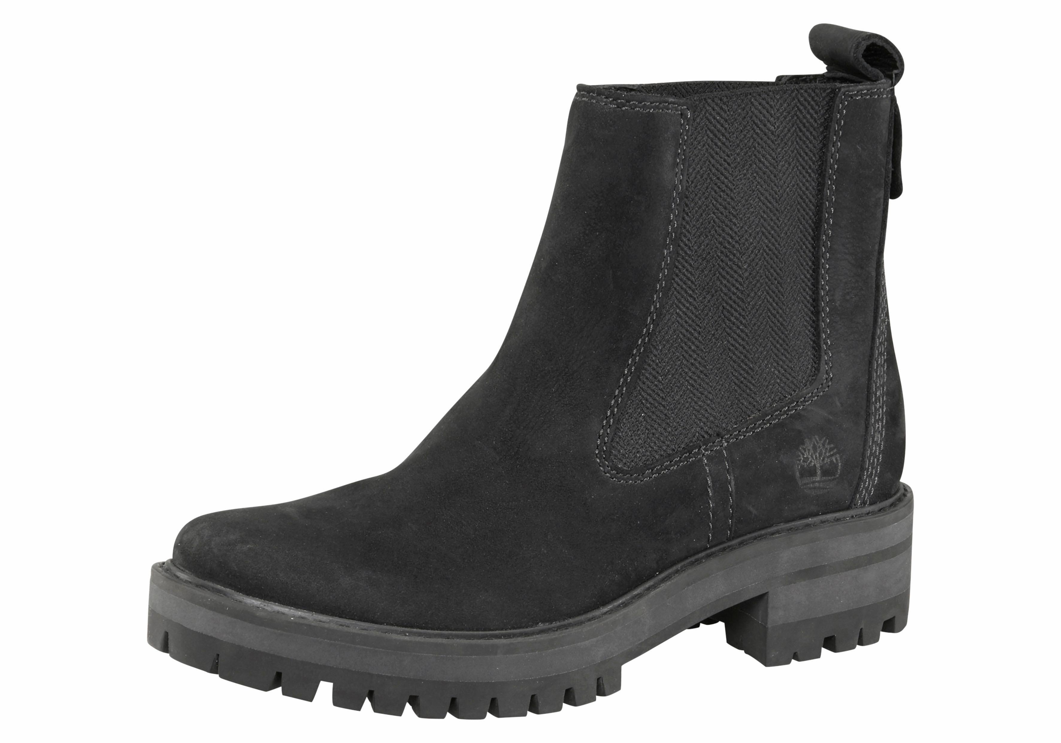 Timberland Chelseaboots Courmayeur Valley | Schuhe > Boots > Chelsea-Boots | Schwarz | Timberland