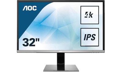 AOC »U3277PWQU« LCD - Monitor (31,5 Zoll, 3840 x 2160 Pixel, 4K Ultra HD, 4 ms Reaktionszeit, 60 Hz) kaufen