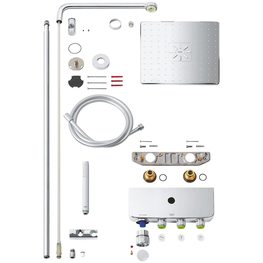 Grohe Duscharmatur »Euphoria Smartcontrol System 310 Cube Duo«, für Wandmontage, mit Thermostatbatterie