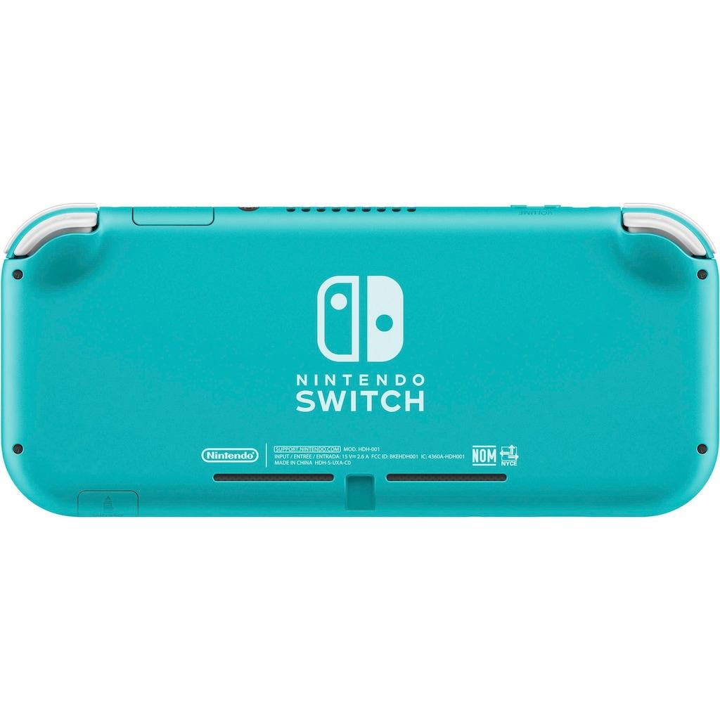 Nintendo Switch Konsole »Lite«, inkl. Mario + Rabbids Kingdom Battle Gold Edit.