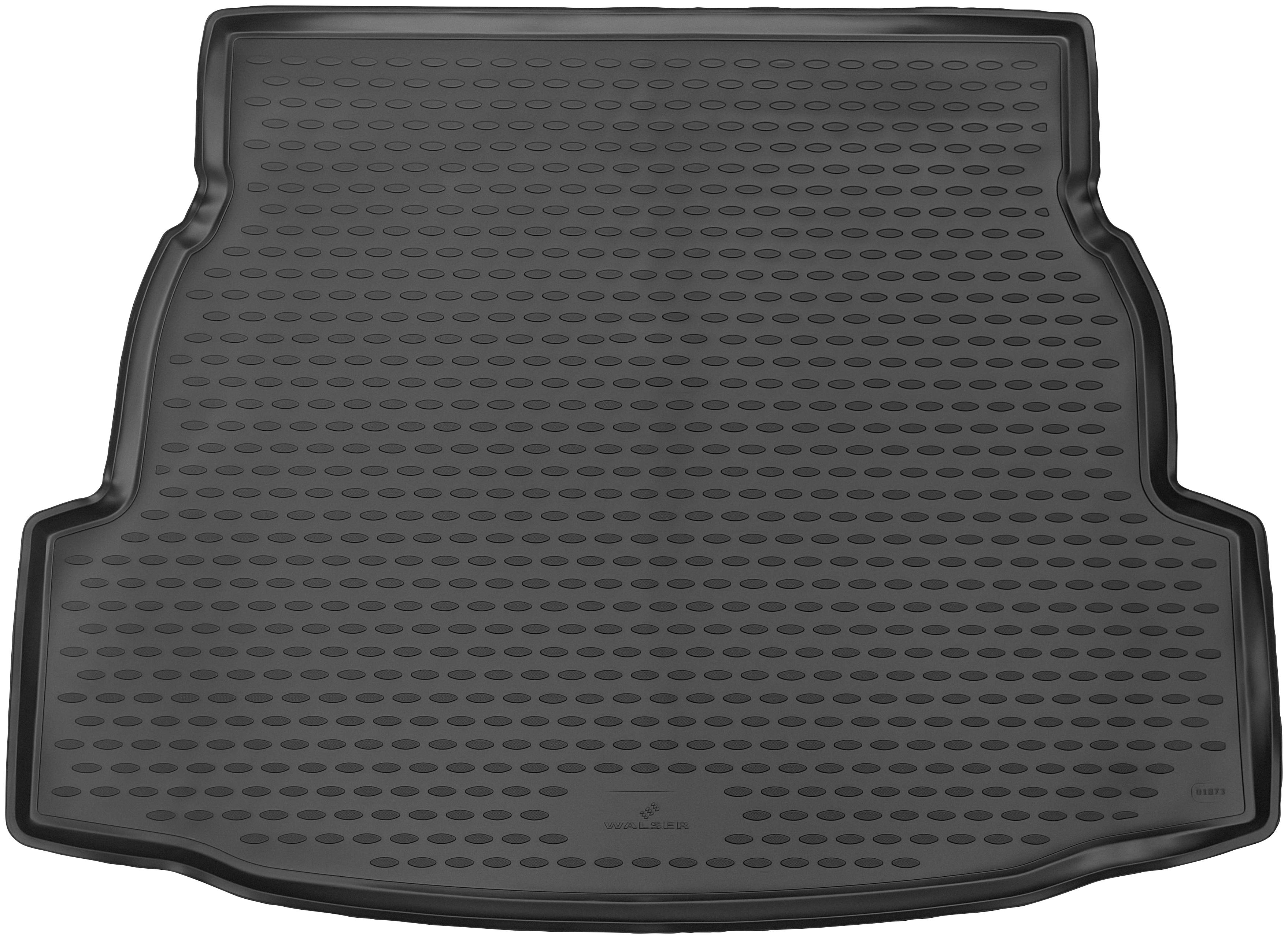 Walser Kofferraummatte XTR, Toyota, RAV4, SUV, für Toyota RAV4 V (XA50) Hybrid BJ 2018 bis Heute schwarz Automatten Autozubehör Reifen