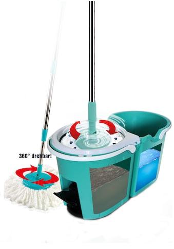 TELESHOP Bodenwischer-Set »CLEVER SPIN«, Boden-Wischsystem incl. Trolley kaufen
