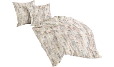 BIERBAUM Bettwäsche »Nature grafik«, mit Streifen kaufen