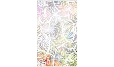 MySpotti Fensterfolie »Look Leaves white«, halbtransparent, glattstatisch haftend, 60... kaufen