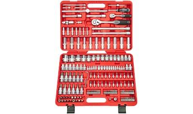 FAMEX Werkzeugkoffer »526 - SD - 25 «, Steckschlüsselsatz mit Feinzahnknarren, 173 - tlg. kaufen