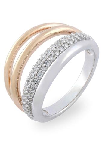 VILMAS Fingerring »4 Liner, 4028146492424, 31, 48«, mit Zirkonia kaufen