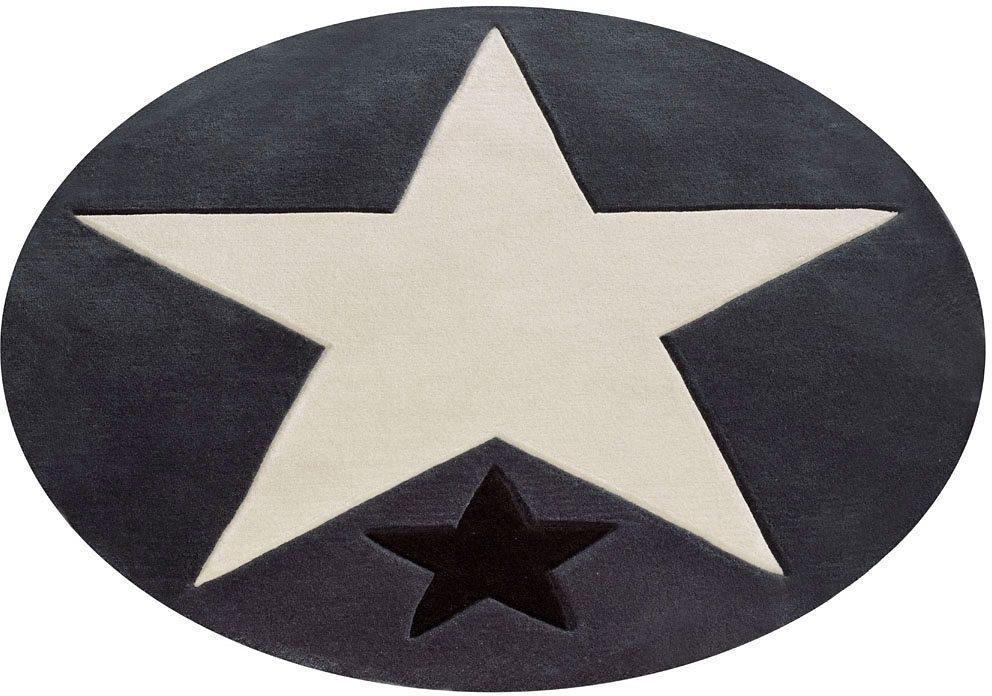 Kinderteppich,  707 , Rock STAR Baby, rund, Höhe 10 mm Preisvergleich