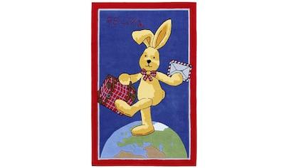 Felix der Hase Kinderteppich »Felix der Hase FE-2943-01-01«, rechteckig, 10 mm Höhe, Konturenschnitt kaufen