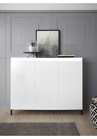 KITALY Highboard »Genio«, Breite 138 cm, mit wendbare Blende kaufen