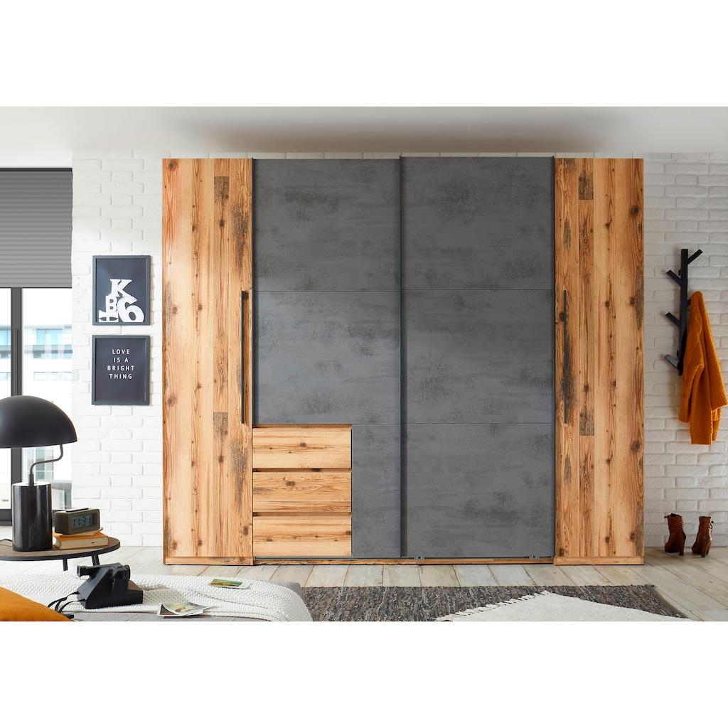 Schlafkontor Dreh-/Schwebetürenschrank »Alina«, Dreh- und Schwebetüren kombiniert, viel Stauraum