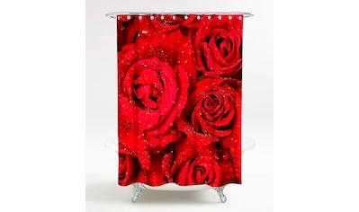 Sanilo Duschvorhang »Rosen«, Breite 180 cm, Höhe 200 cm kaufen