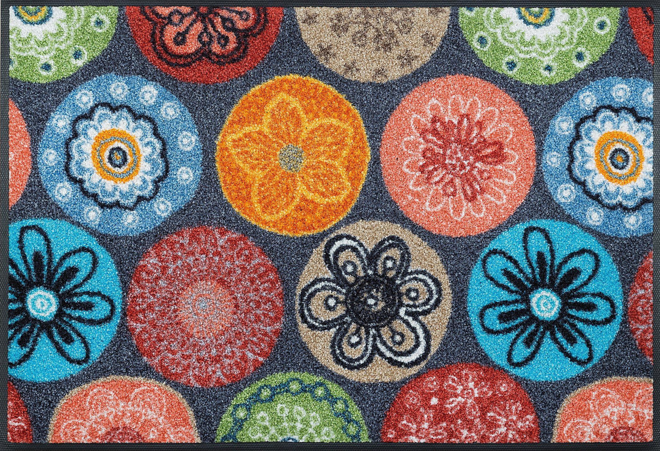 Läufer Coralis wash+dry by Kleen-Tex rechteckig Höhe 7 mm gedruckt