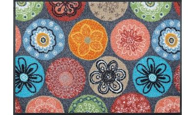 Läufer, »Coralis«, wash+dry by Kleen - Tex, rechteckig, Höhe 7 mm, gedruckt kaufen
