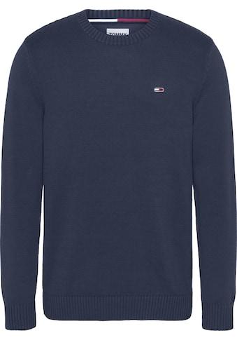 Tommy Jeans Strickpullover »TJM ESSENTIAL CREW NECK SWEATER« kaufen