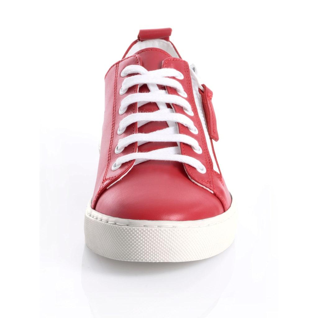 Alba Moda Sneaker, aus Rindsleder