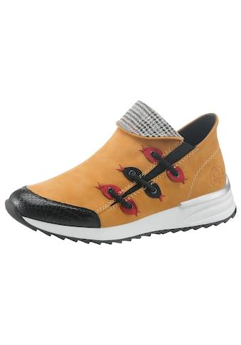 Rieker Slip-On Sneaker, in moderner Optik kaufen