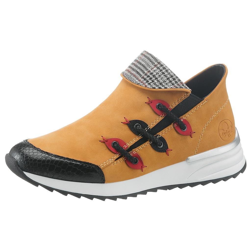 Rieker Slip-On Sneaker, in moderner Optik