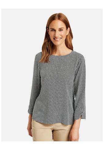 GERRY WEBER Schlupfbluse »Bluse mit Minimalmuster« kaufen