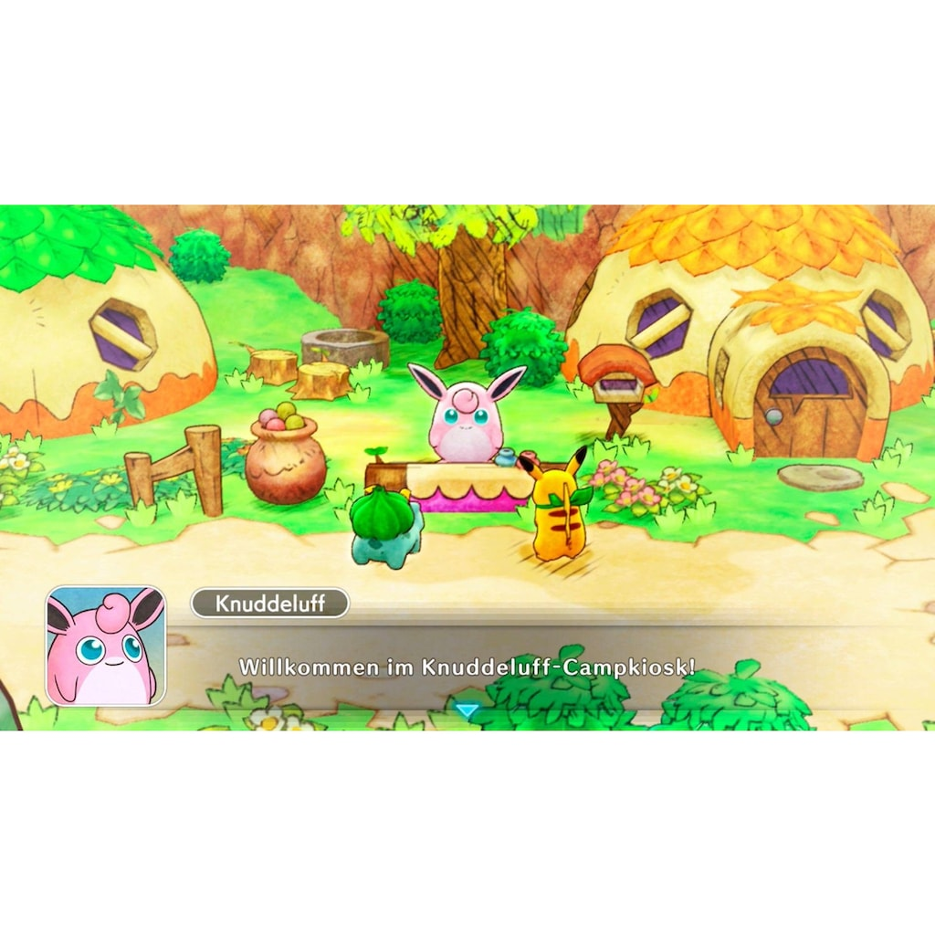 Nintendo Switch Spiel »Pokémon Mystery Dungeon: Retterteam DX«, Nintendo Switch