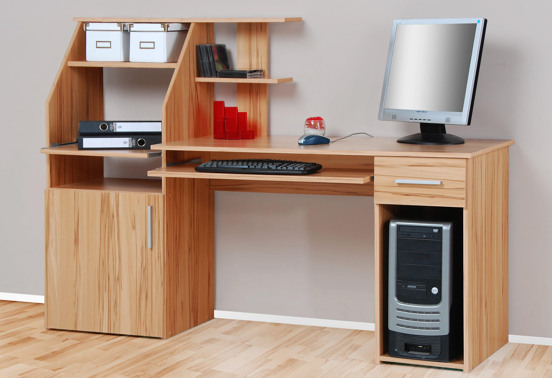 PC-Schreibtisch Don mit Tastaturauszug