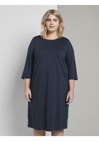 TOM TAILOR MY TRUE ME Shirtkleid »Kleid mit Kontrast - Tape« kaufen