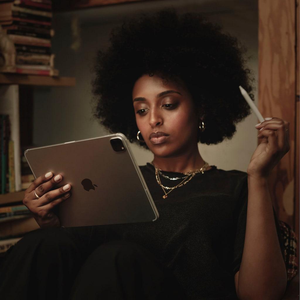 Apple Tablet »iPad Pro 12.9 (2020) - 256 GB WiFi«, Kompatibel mit Apple Pencil 2