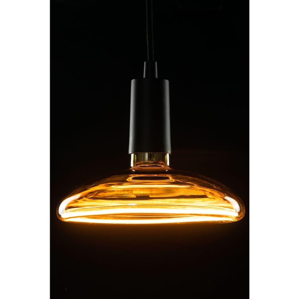 SEGULA LED-Leuchtmittel »LED Floating Reflektor R200 smokey grey«, E27, 1 St., Extra-Warmweiß, Goldglas, dimmbar, schwebendes Licht