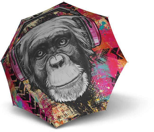 doppler Taschenregenschirm ´´Monkey´´   Accessoires > Regenschirme > Sonstige Regenschirme   Bunt   Doppler