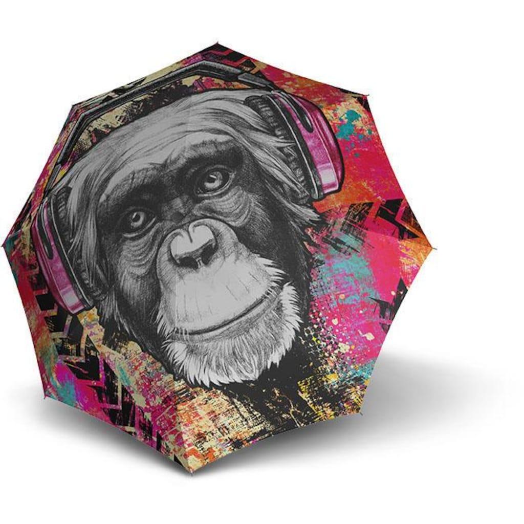 doppler® Taschenregenschirm »Monkey«